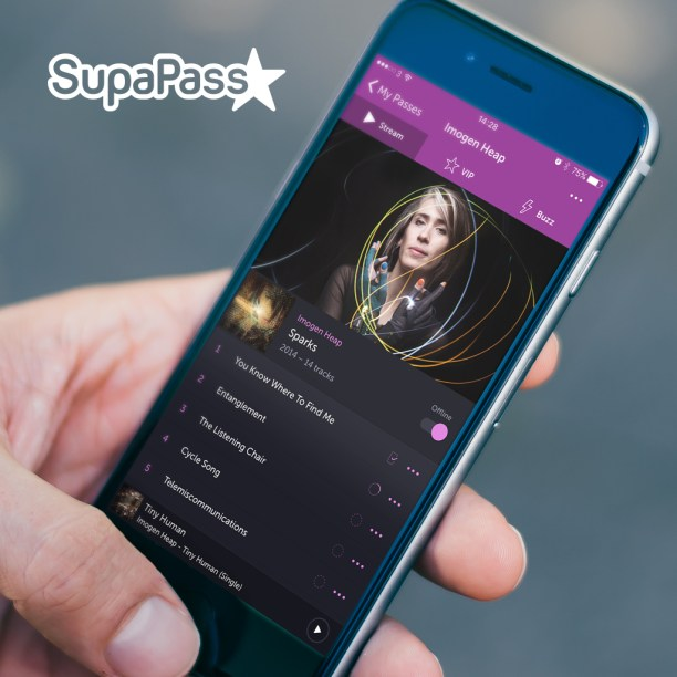 Imogen Heap Launches very different streaming app Channel on SupaPass