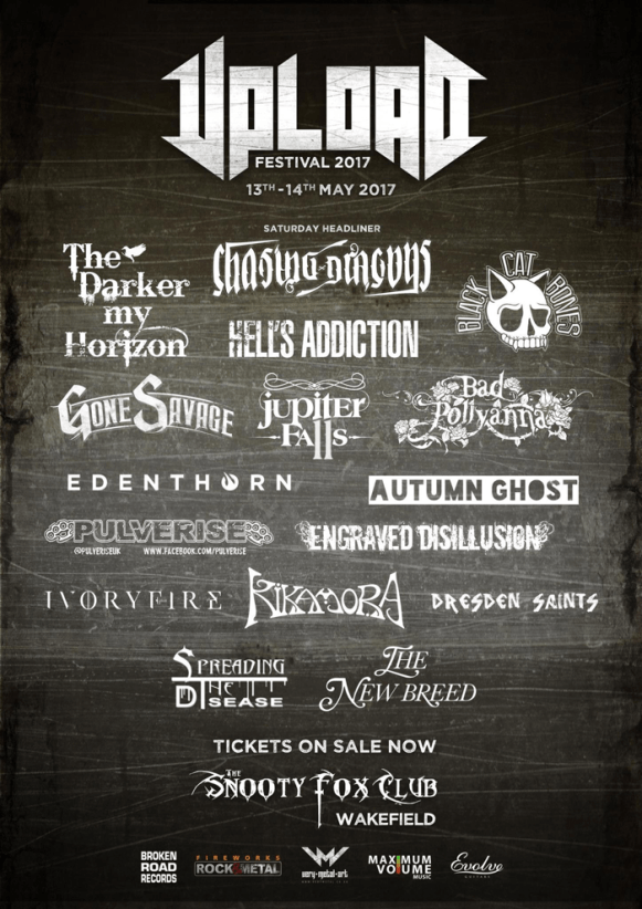More bands announced for Upload Festival 2017