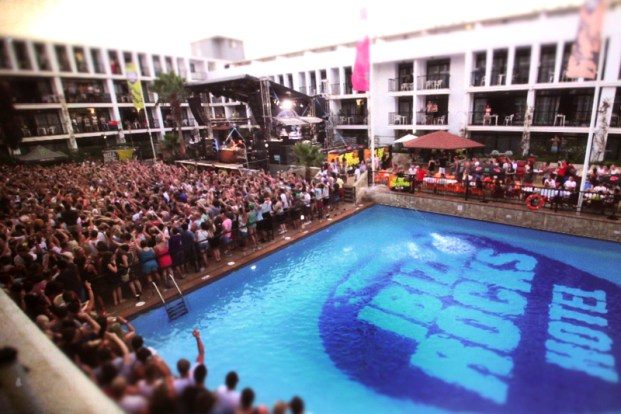Ibiza Rocks Hotel - the new home of the pool party