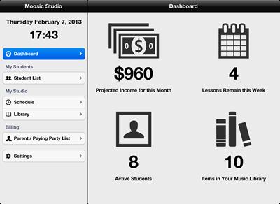 Giveaway of New Moosic Studio Management App - a $39 99 Value