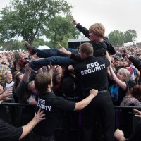 Chevy Metal performs at Louisville's Louder than Life Festival