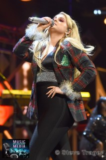 December 10, 2018 Meghan Trainor performs on stage as part of Hot 99.5's Jingle Ball 2018 Presented By Capital One at Capital One Arena on December 10, 2018 in Washington, DC (Photo By: Steve Trager/ The Photo Access )