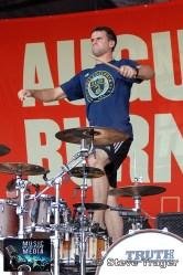 AUGUST BURNS RED VANS WARPED TOUR 2011 CAMDEN NEW JERSEY 01