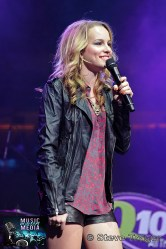 BRIDGIT MENDLER Q102 JINGLE BALL 2012 WELLS FARGO CENTER PHILADELPHIA PA 25