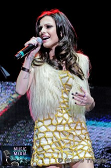 CHER LLOYD Q102 JINGLE BALL 2012 WELLS FARGO CENTER PHILADELPHIA PA 06