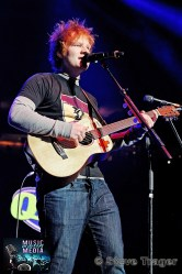ED SHEERAN Q102 JINGLE BALL 2012 WELLS FARGO CENTER PHILADELPHIA PA 02