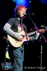 ED SHEERAN Q102 JINGLE BALL 2012 WELLS FARGO CENTER PHILADELPHIA PA 09
