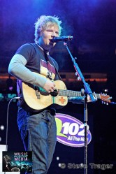 ED SHEERAN Q102 JINGLE BALL 2012 WELLS FARGO CENTER PHILADELPHIA PA 16