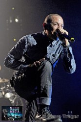 LINKIN PARK LIVE DURING THEIR HEADLINER TOUR IN 2012 20