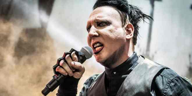 Marilyn Manson; Photo by Andrew Wendowski