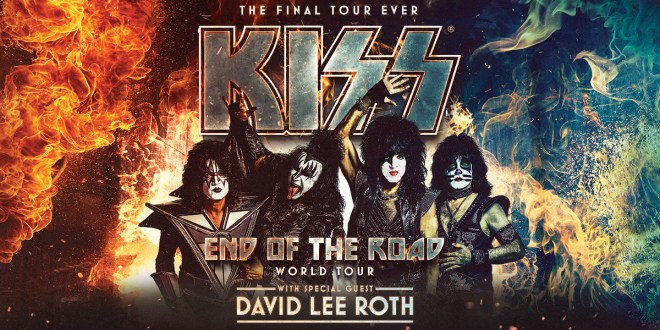 Kiss with Special Guest David Lee Roth