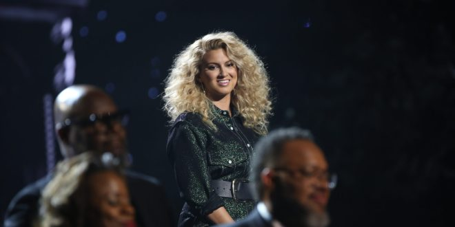 "Tori Kelly performs ""Do You Hear What I Hear"" at the 2019 ""CMA Country Christmas"" special filmed at Belmont's Curb Center in Nashville, Tennessee. ""CMA Country Christmas"" will air on Tuesday, December 3 on ABC."