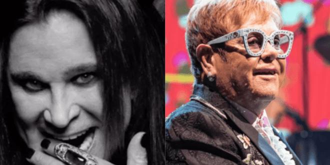 "Ozzy Osbourne and Elton John ""Ordinary Man"""