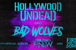 Hollywood Undead and Bad Wolves
