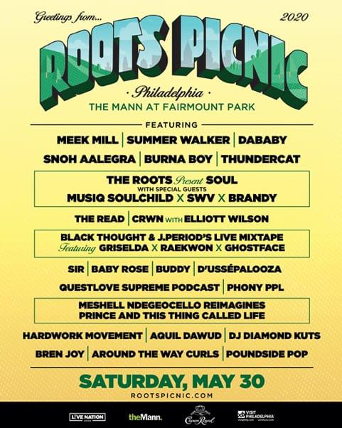 Roots Picnic Festival 2020