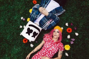 Marshmello and Halsey; Photo by Peter Donaghy