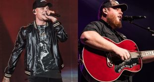 Kane Brown and Luke Combs; Photo by Andrew Wendowski