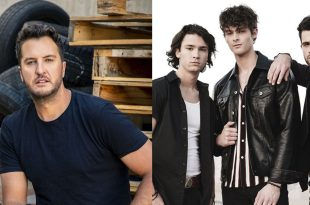 Luke Bryan and Restless Road; Photo Courtesy of Artists