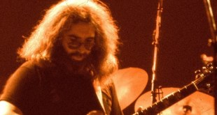 Jerry Garcia 1978; Photo Courtesy of Elliott Newhouse