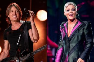 Keith Urban and P!nk; Photos By Andrew Wendowski