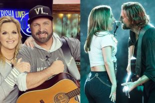 Garth Brooks & Trisha Yearwood Photo Garth Brooks and Trisha Yearwood; Photo Courtesy Horse of Troy Productions, Inc \\ Lady Gaga, Bradley Cooper Courtesy of 'A Star Is Born' film