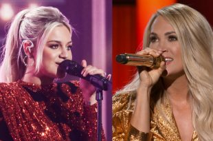 Kelsea Ballerini and Carrie Underwood; Photos Courtesy of CBS