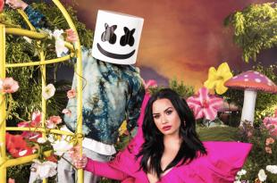 Marshmello and Demi Lovato; Photo Provided