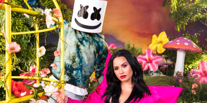 Marshmello and Demi Lovato; Photo Provided