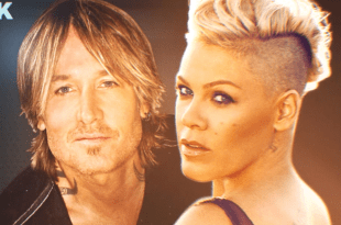 Keith Urban and Pink; Photo Courtesy of ACM Awards