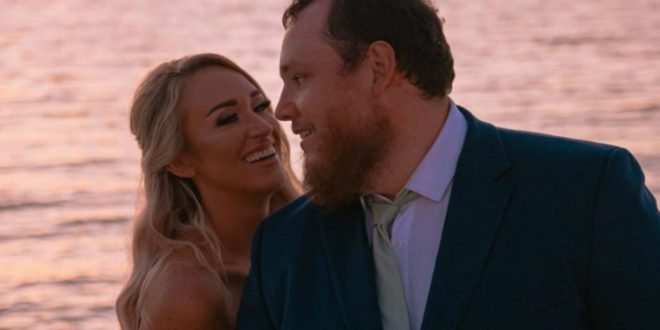 Luke Combs and Nicole Hocking Combs; Photo by Tiffany Brittin