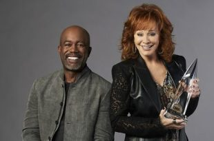 Reba McEntire and Darius Rucker; Photo Courtesy of Alysse Gafkjen/ABC