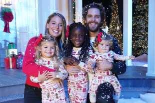 Thomas Rhett, Lauren Akins And Family; Photo Courtesy of CMA Country Christmas