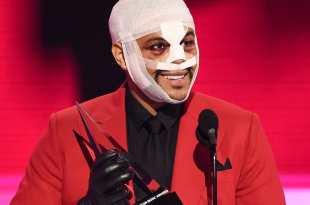 The Weeknd; Photo Courtesy of AMAs/ABC