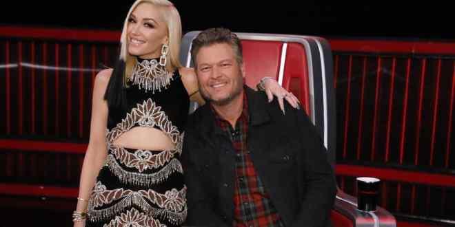 Gwen Stefani and Blake Shelton; Photo Courtesy of NBC