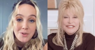 Priscilla Block And Dolly Parton; Photos Courtesy Of Instagram