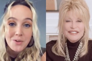 Priscilla Block And Dolly Parton; Photos Courtesy Of Instagram