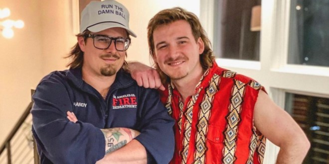 Hardy And Morgan Wallen; Photo Courtesy Of Instagram