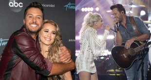 Luke Bryan And Gabby Barrett; Photo by Eric McCandless/Walt Disney Television/ABC