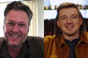 Blake Shelton And Morgan Wallen; Photos Courtesy of YouTube