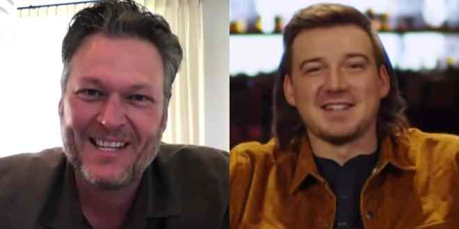 Blake Shelton And Morgan Wallen; Photos Courtesy of YouTube