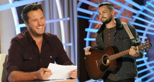 Luke Bryan and Chayce Beckham; Photo Courtesy of ABC