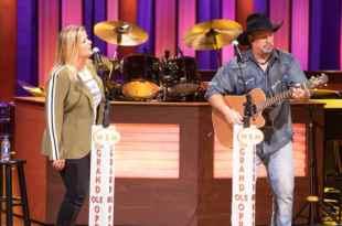 Trisha Yearwood and Garth Brooks; Photo Courtesy of NBC