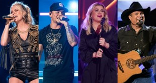 Carrie Underwood, Kane Brown, Kelly Clarkson and Garth Brooks