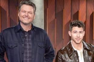 Blake Shelton, Nick Jonas; Photo Courtesy of NBC's The Voice
