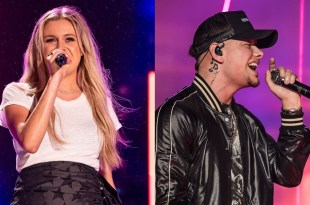 Kelsea Ballerini and Kane Brown; Photos by Andrew Wendowski