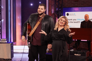 Jake Hoot And Kelly Clarkson; Photo Courtesy of NBC