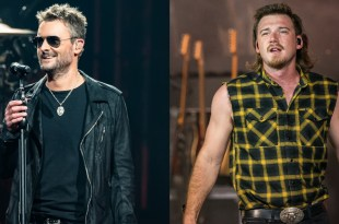 Eric Church and Morgan Wallen; Photos Courtesy of Andrew Wendowski