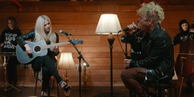Mod Sun and Avril Lavigne; Photo Courtesy of YouTube