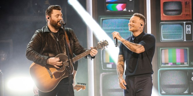 Chris Young and Kane Brown; Photo Courtesy of CBS