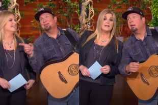 Trisha Yearwood & Garth Brooks; Photos Courtesy of The Ellen Show
